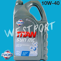 Масло моторное Fuchs TITAN SYN MC 10W-40 5л.