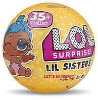 Игровой набор с мини-куклой L.O.L. S3 - СЕСТРИЧКА (55 видов в ассорт., в дисплее)
