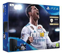 Игровая консоль SONY PlayStation 4 Slim 1TB + игра FIFA 18