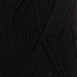 Пряжа DROPS Fabel, цвет 400 Black