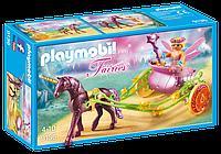 Конструктор Playmobil  9136 Карета Цветочной феи с Единорогом, фото 1