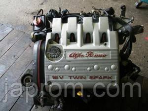 Мотор (Двигатель) Alfa Romeo 156 147 1.6 TS AR37203 2000г