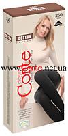 """Колготки ТМ """"Conte"""" Cotton 250 ден, размер 3, цвет Nero"""