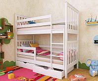 """Кровать двухъярусная детская подростковая от """"Wooden Boss"""" Ромео Плюс (спальное место 80х160)"""
