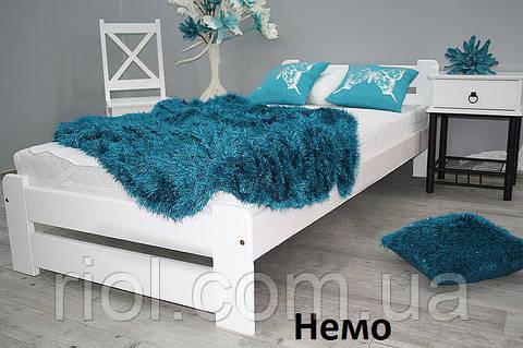 Кровать из массива бука Немо