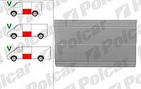 Обшивка боковина до стекла L для MB Sprinter/VW LT