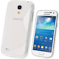 Силиконовый чехол прозрачный для Samsung Galaxy S4 I9500