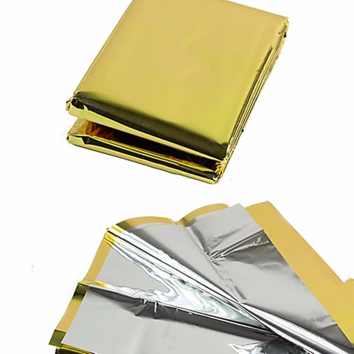 Спасательное покрывало золото/серебро , размер 160 Х 210 см , Польша