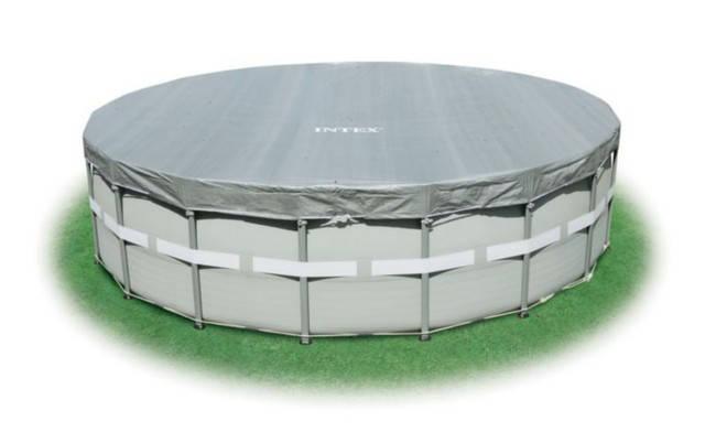 Тент для круглых каркасных бассейнов Intex 57900 (549х20 см.), фото 2