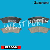 Тормозные колодки Ferodo Chevrolet EPICA Daewoo TOSCA Задние Дисковые Со звуком износа FDB4305