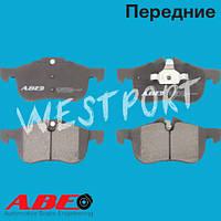 Тормозные колодки ABE Передние Дисковые Без датчика износа C1K013ABE
