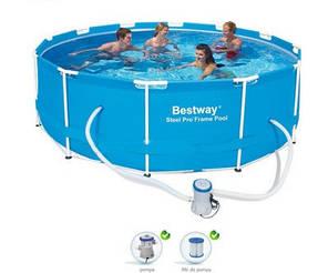 Каркасный бассейн BestWay 56260 (366х100 см.), фото 2