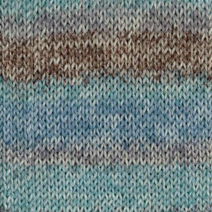 Пряжа носочная DROPS Fabel, цвет 604 Ocean View Long Print