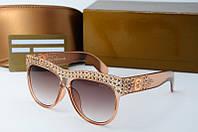 Солнцезащитные очки Gucci коричневые, фото 1