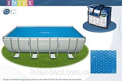 Тент для бассейна с эффектом антиохлаждение Intex 29027 (732х366 см.)