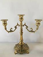 Канделябр настольный на 3 свечей Stilars 1397