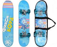 Скейт Фиксики FX 0006 Голубой