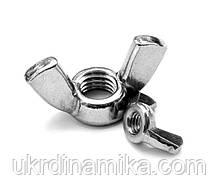 Гайка-барашек М12 DIN 315. Гайка барашковая с округлыми лепестками, фото 3