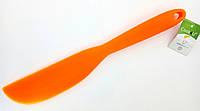 Нож силиконовый (оранжевый) Cook4you B1151