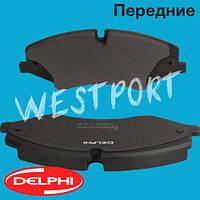 Тормозные колодки Delphi Передние Дисковые Под датчик износа LP2176, фото 1