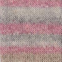 Носочная пряжа DROPS Fabel, цвет 623 Rose Mist Long Print