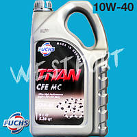 Масло моторное Fuchs TITAN CFE MC 10W-40 5л.