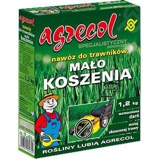Добриво Agrecol для газонів Не Часте Косіння 1,2 кг