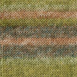 Носочная пряжа DROPS Fabel, цвет 650 Forest Long Print