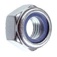 Гайки высокопрочные М22 DIN 985 класс прочности 8.0, класс прочности 10.0. Гайки применяются для надежного закрепления соединения