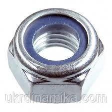 Гайки высокопрочные М20 DIN 985 класс прочности 8.0, класс прочности 10.0. Гайки применяются для надежного закрепления соединения