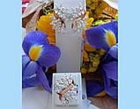 Серебряный комплект с золотыми пластинами Жар-Птица, фото 3