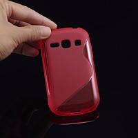 Силиконовый чехол для Samsung Galaxy Fame s6810