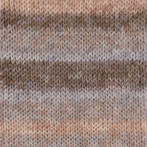 Носочная пряжа DROPS Fabel, цвет 651 Sand Long Print