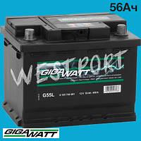 Аккумулятор Gigawatt 56Ач 480А 0185755601