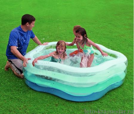 """Детский надувной бассейн """"Морская звезда"""" Intex 56495 185х180х53 см, фото 2"""