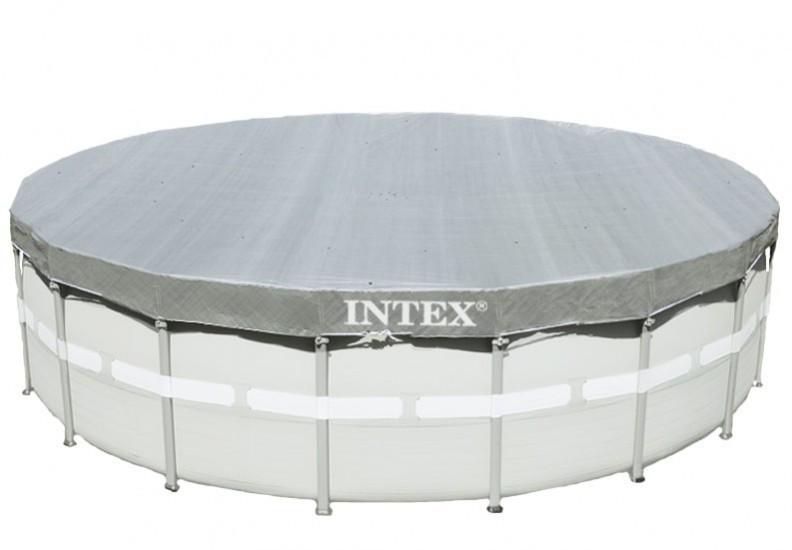 Тент для каркасного бассейна диаметром 549 см. Intex 28041