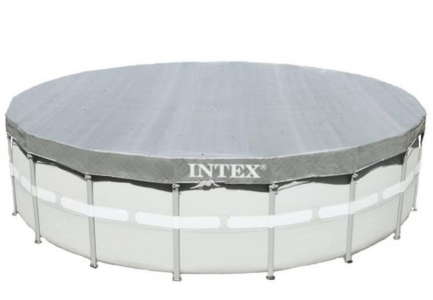 Тент для каркасного бассейна диаметром 549 см. Intex 28041, фото 2