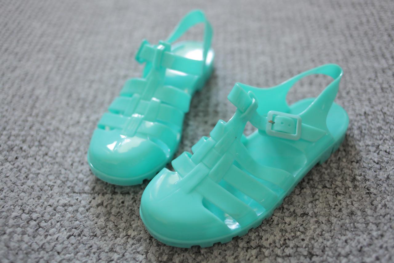 Жіночі сандалі силікон трактор лак літо Aqua 36 - 39