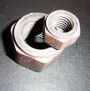 Гайки М18 для фланцевих з'єднань ГОСТ 9064-75, фото 2