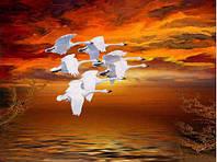 Летят утки (полная выкладка) 13*18