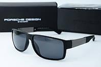 Солнцезащитные очки Porsche Design черные матовые, фото 1