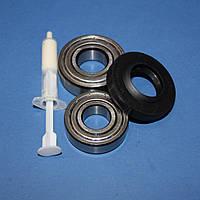 Комплект подшипников и сальник (6203+6204+25*47*8/11.5) для стиральной машины Indesit, Ariston C00090555