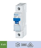 Автоматический выключатель Doepke DLS 6h C25-1 (тип C, 1пол., 25 А, 6 кА), dp09914205