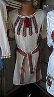 Женское вышитое платье в расцветках