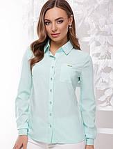 Женская классическая блузка-рубашка (1741  mrs), фото 2