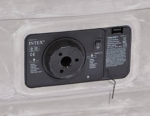 Надувная кровать Intex 67768(191х137x33см.) Comfort-Plush Mid Rais Airbed + встроенный электронасос, фото 2