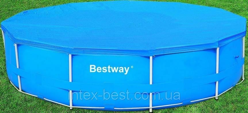 Чехол защитный для бассейна круглого Bestway 58037 366 см, фото 2