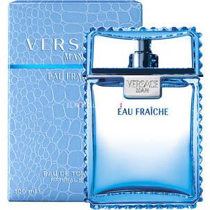 Парфюмированная вода для мужчин Versace Man Eau Fraiche 100 ml  реплика, фото 2