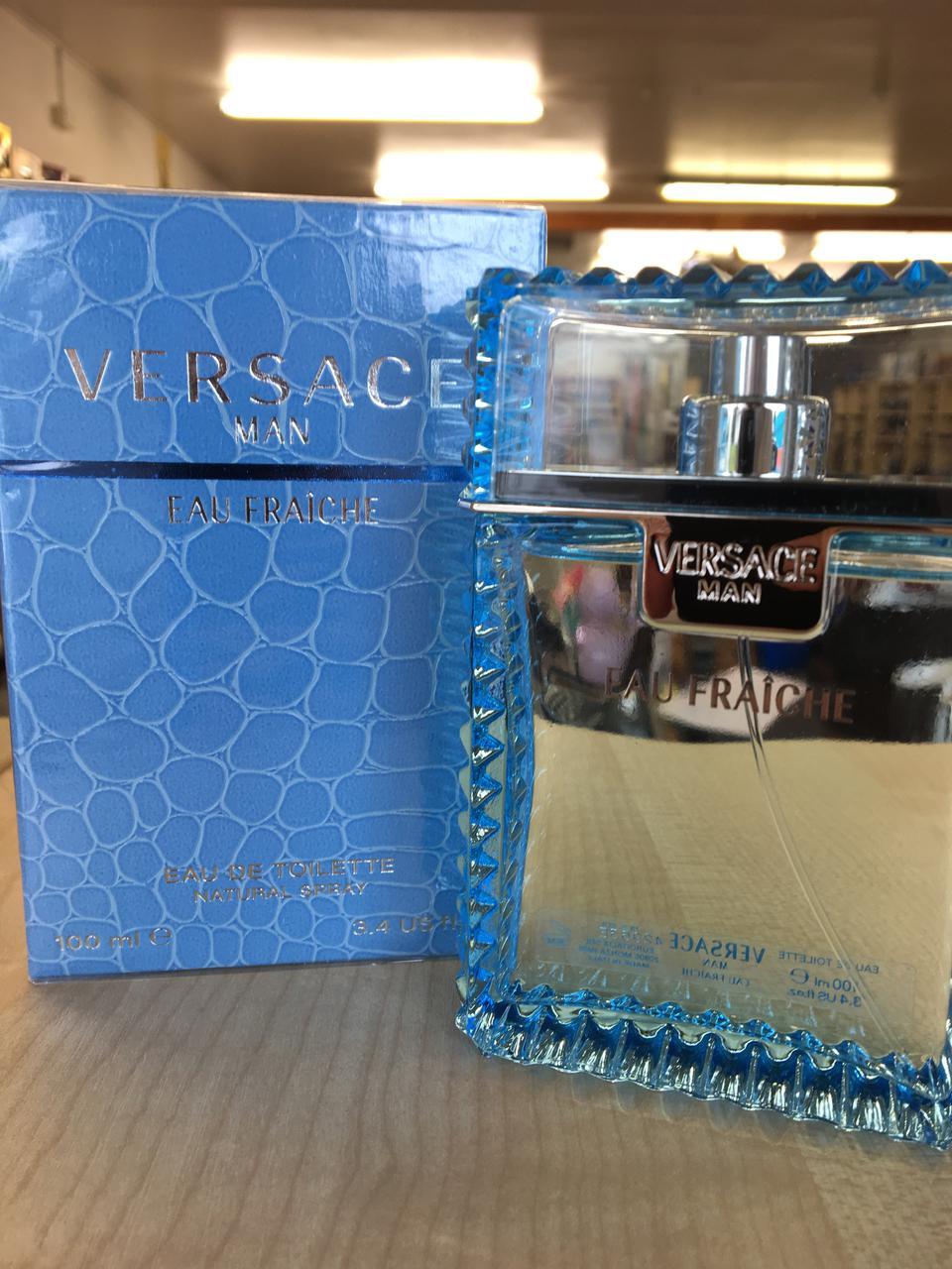 Парфюмированная вода для мужчин Versace Man Eau Fraiche 100 ml  реплика
