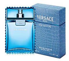 Парфюмированная вода для мужчин Versace Man Eau Fraiche 100 ml  реплика, фото 3